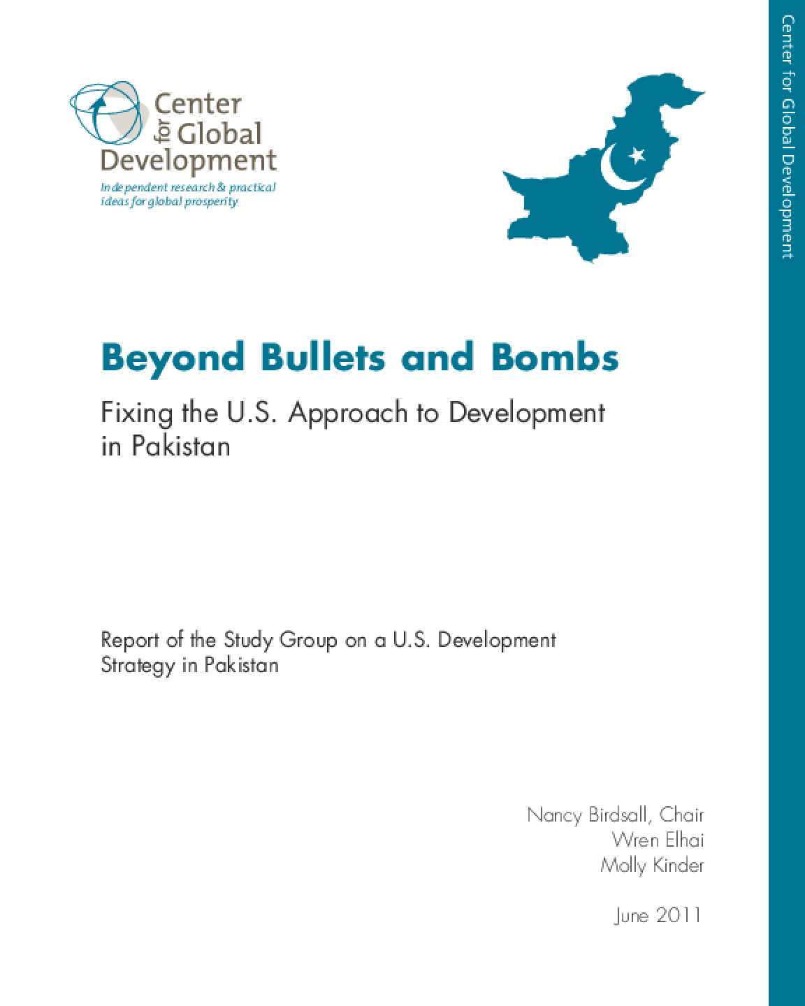 Beyond Bullets and Bombs: Fixing the U.S. Approach to Development in Pakistan