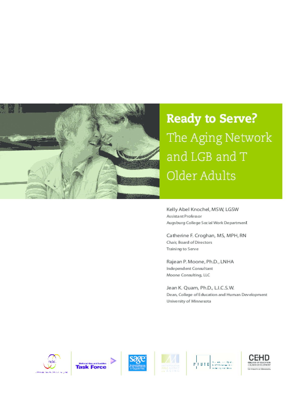 Ready to Serve? The Aging Network and LGB and T Older Adults