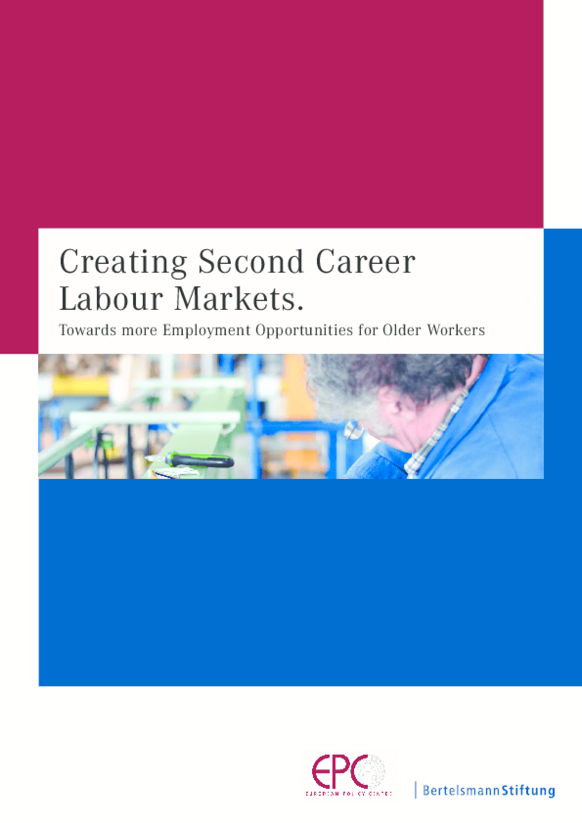 Creating Second Career Labour Markets: Towards more Employment Opportunities for Older Workers