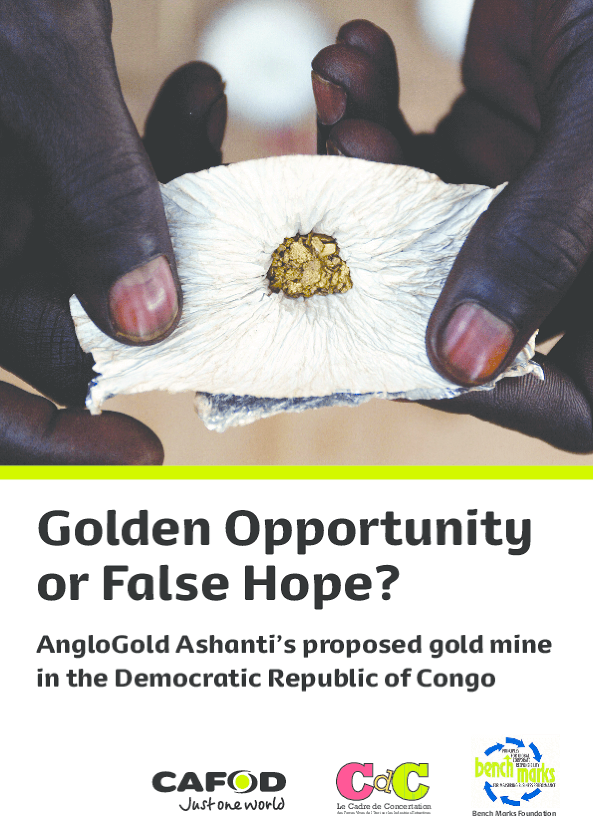 Golden Opportunity or False Hope? Anglogold Ashanti's Proposed Gold Mine in the Democratic Republic of Congo