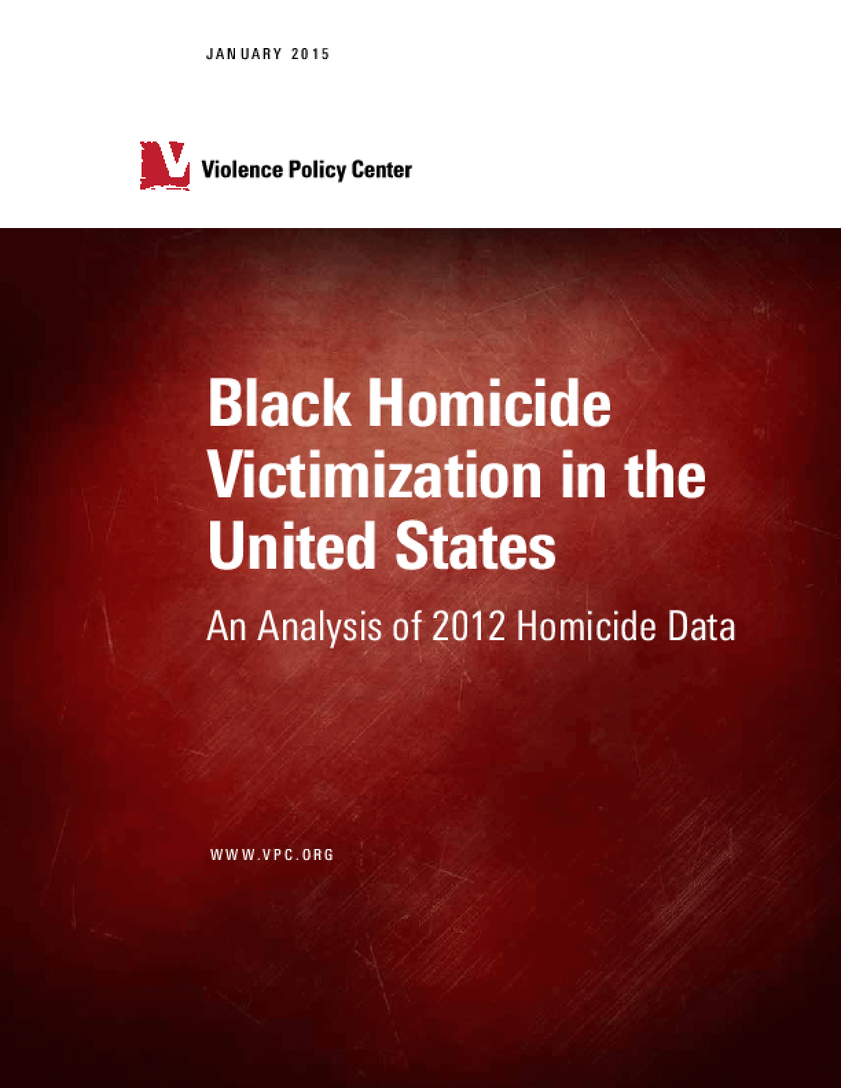 Black Homicide Victimization in the United States: An Analysis of 2012 Homicide Data