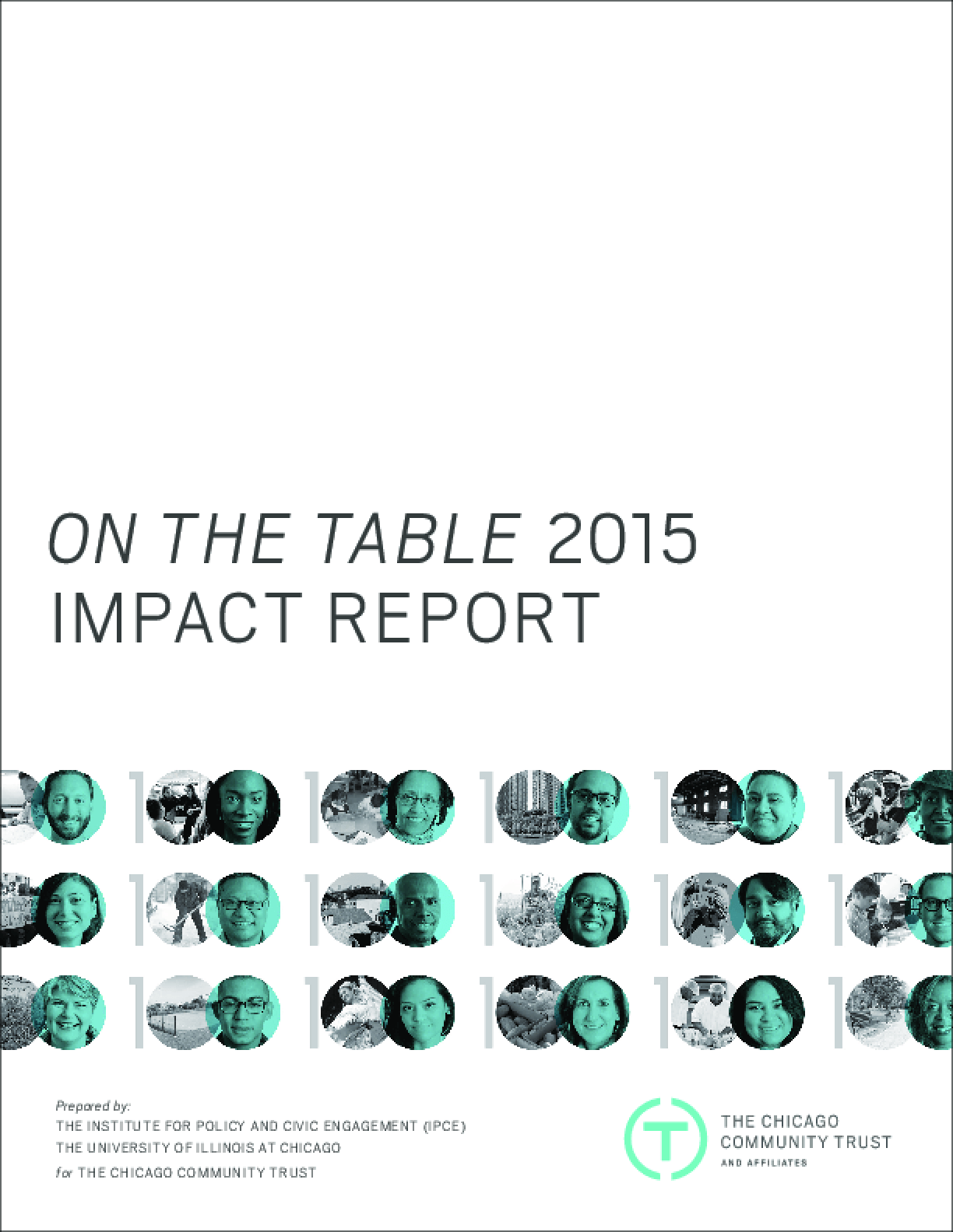 On the Table: 2015 Impact Report