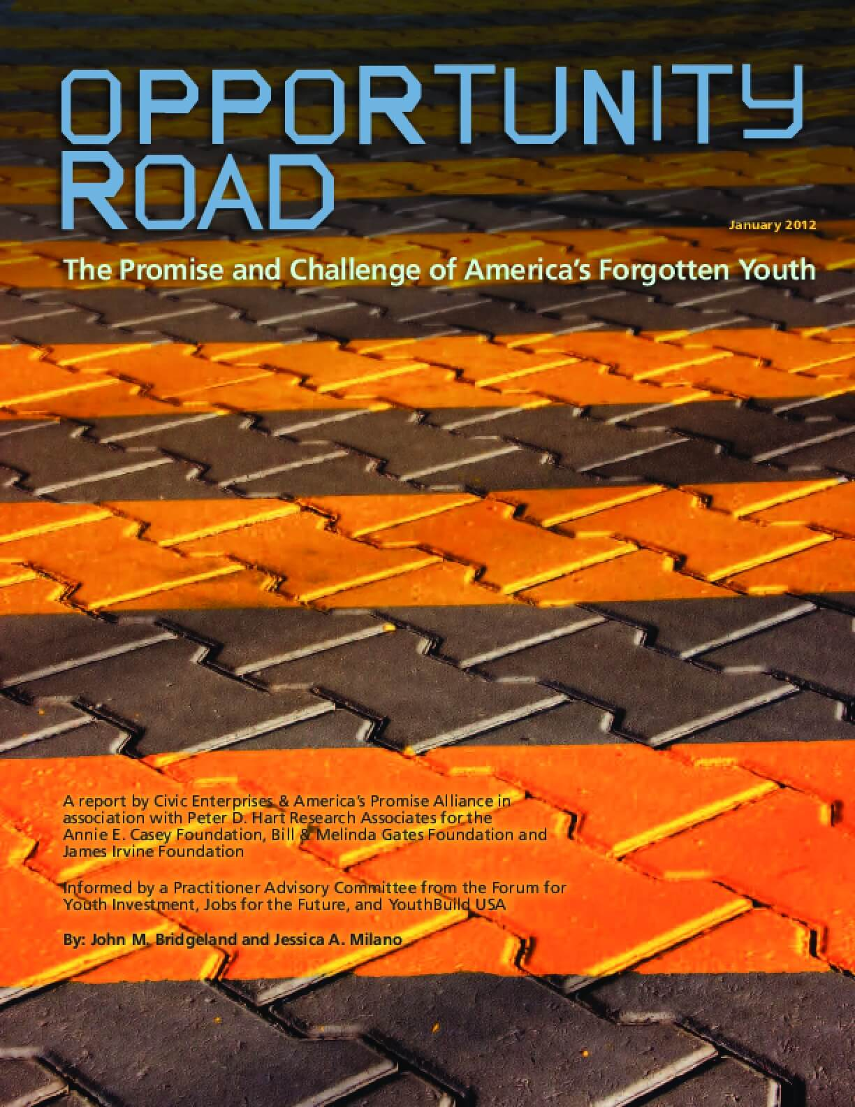 Opportunity Road: The Promise and Challenge of America's Forgotten Youth