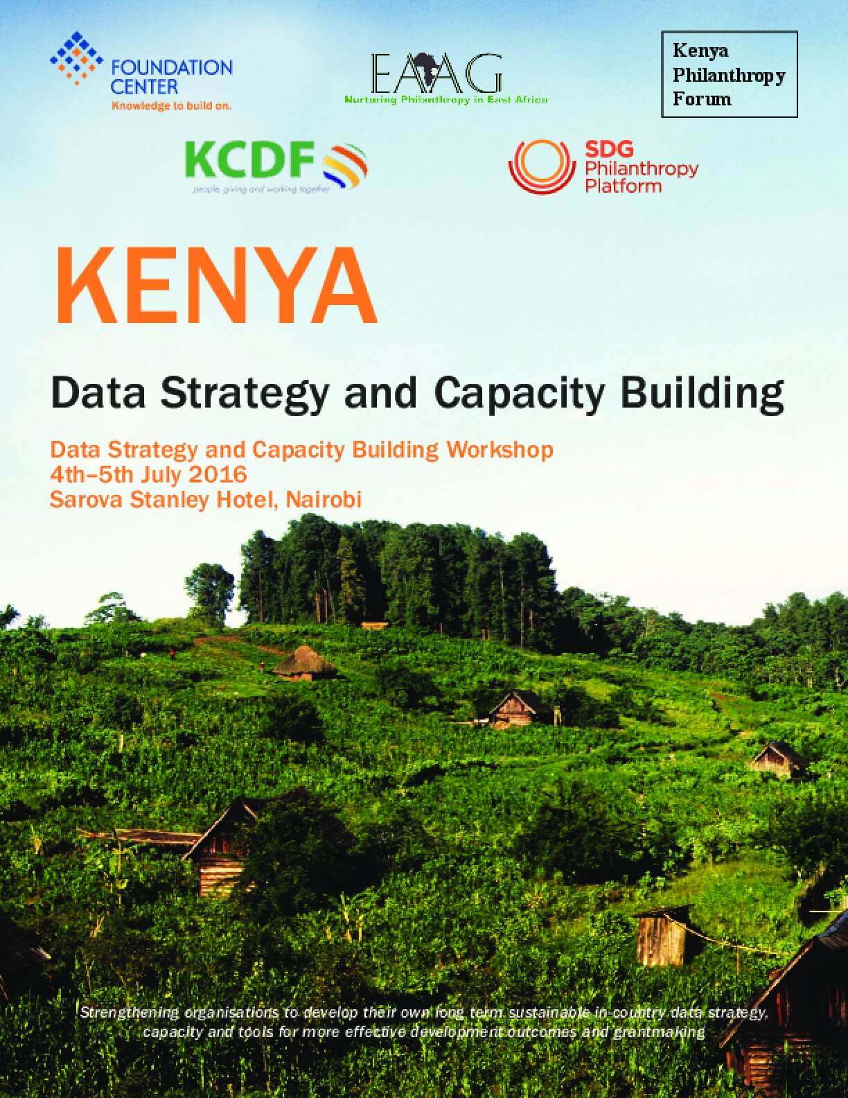 Kenya: Data Strategy and Capacity Building (2nd Report)