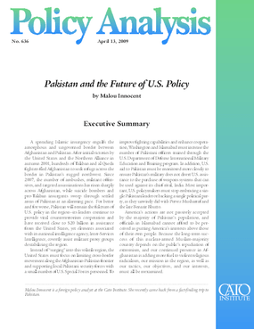 Pakistan and the Future of U.S. Policy