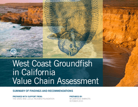 West Coast Groundfish in California Value Chain Assessment