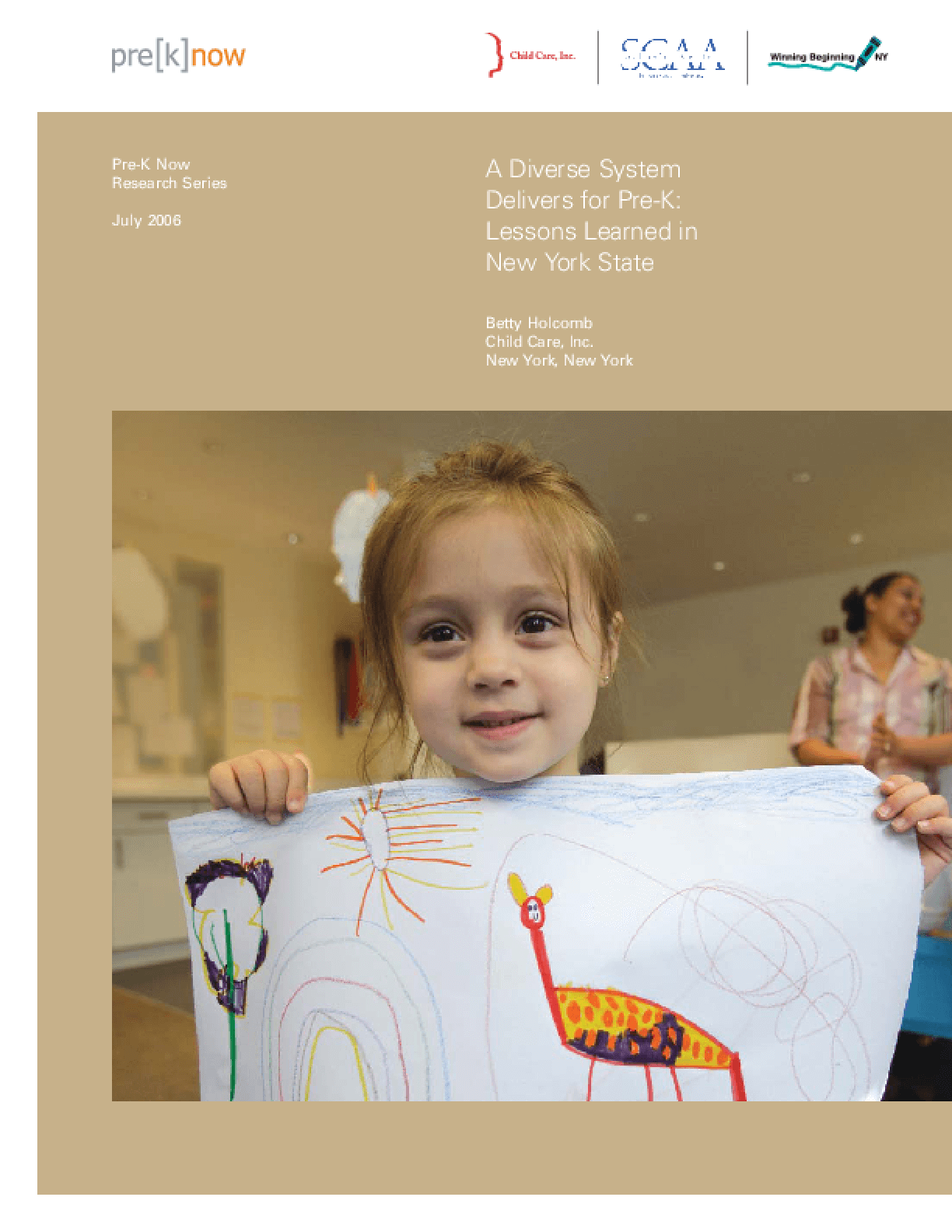A Diverse System Delivers for Pre-K: Lessons Learned in New York State