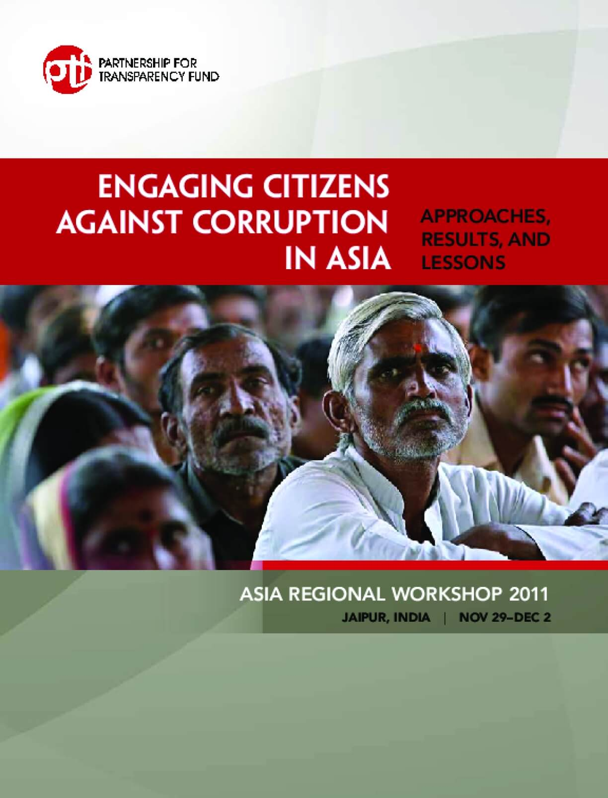 Engaging Citizens against Corruption in Asia: Approaches, Results, and Lessons