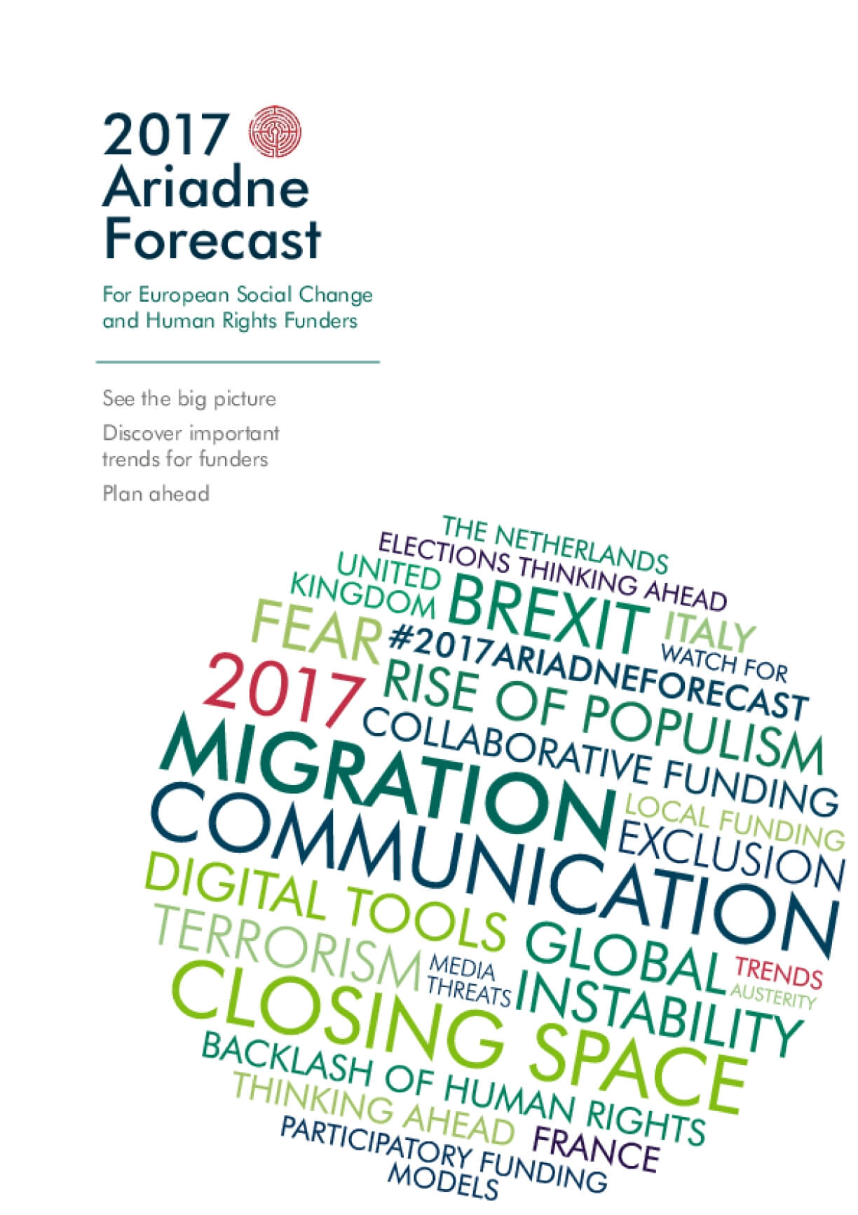 2017 Ariadne Forecast For European Social Change and Human Rights Funders