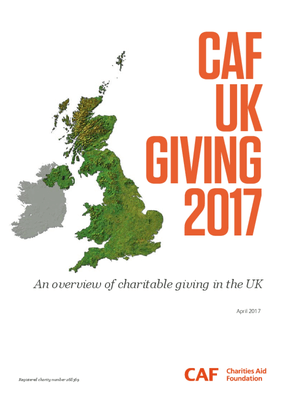 CAF UK Giving 2017 - An overview of charitable giving in the UK