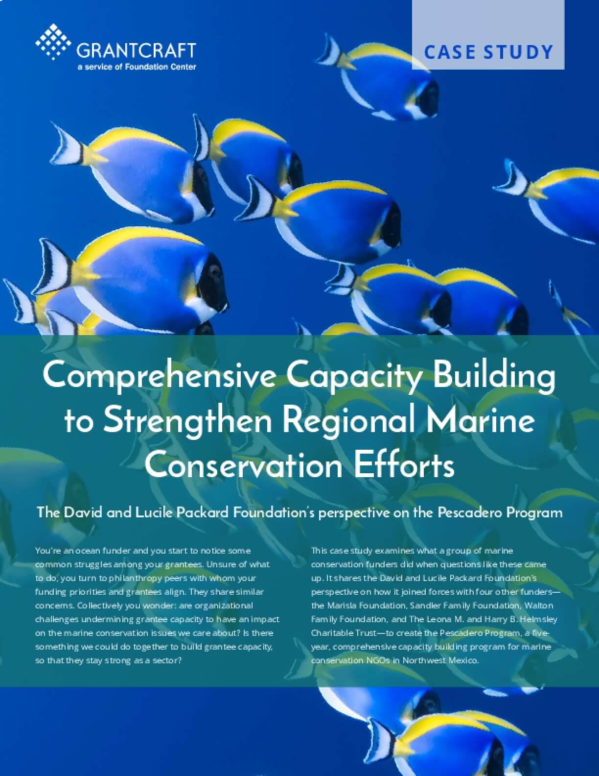 Comprehensive Capacity Building to Strengthen Regional Marine Conservation Efforts