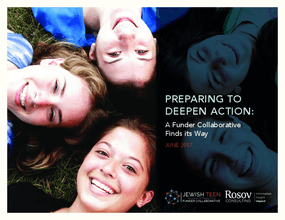 Preparing to Deepen Action: A Funder Collaborative Finds its Way