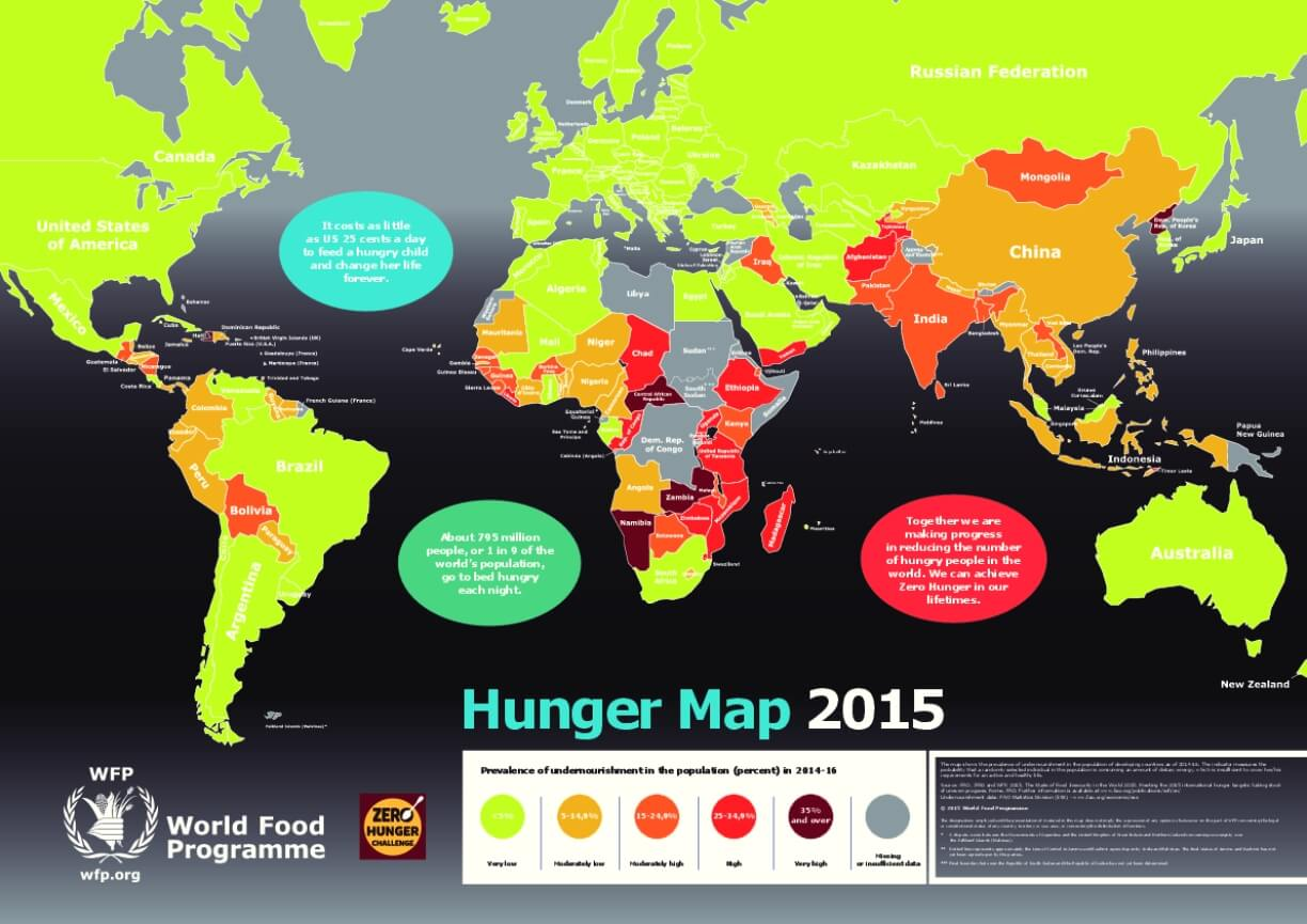 Hunger Map 2015