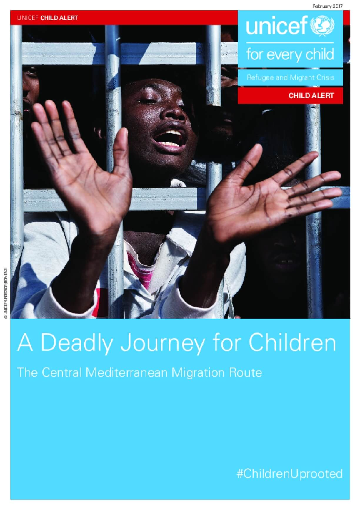 A Deadly Journey for Children: The Central Mediterranean Migration Route
