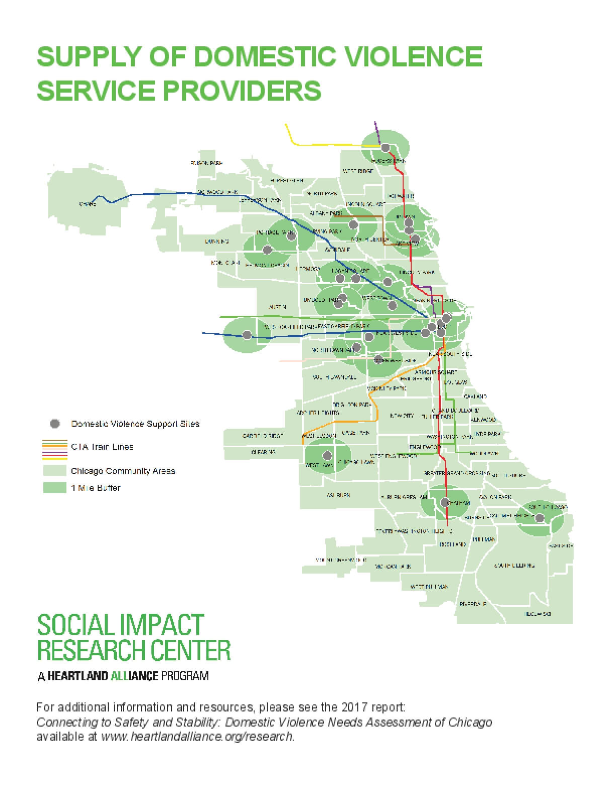 Map: Supply of Services with Relevant Demographics (DV Landscape Report)
