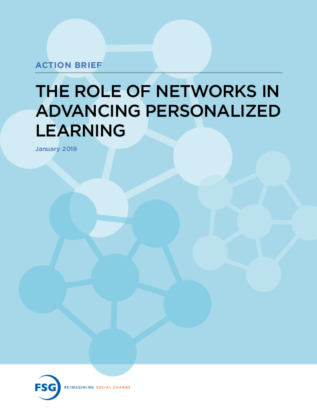 The Role of Networks in Advancing Personalized Learning