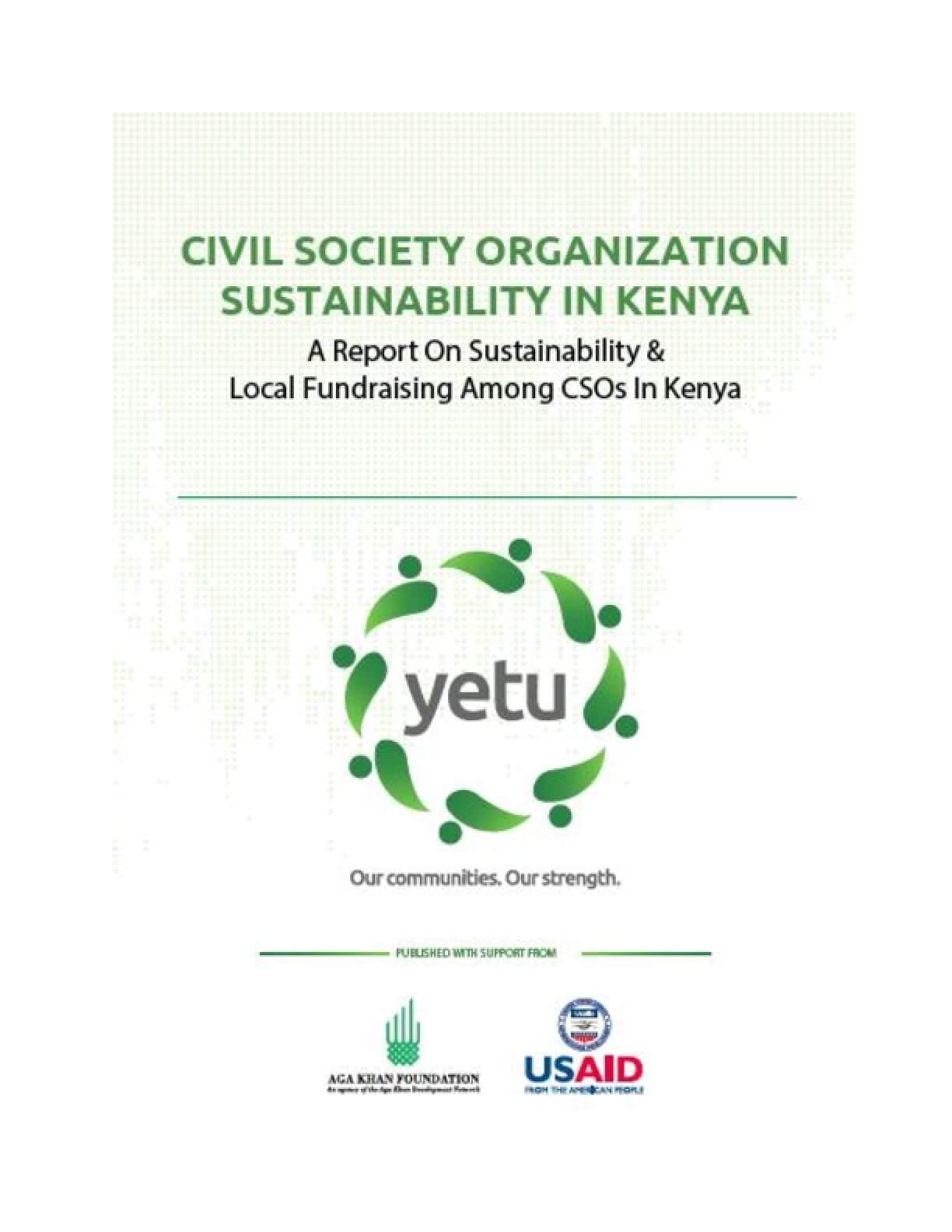 Civil Society Organization Sustainability in Kenya