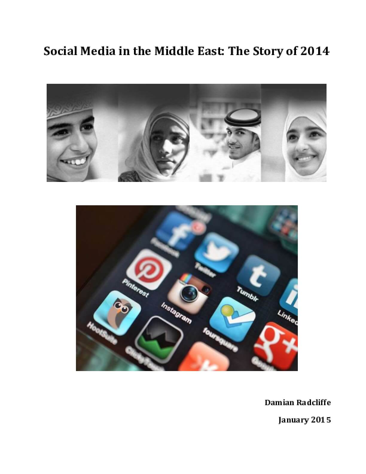 Social Media in the Middle East: The Story of 2014