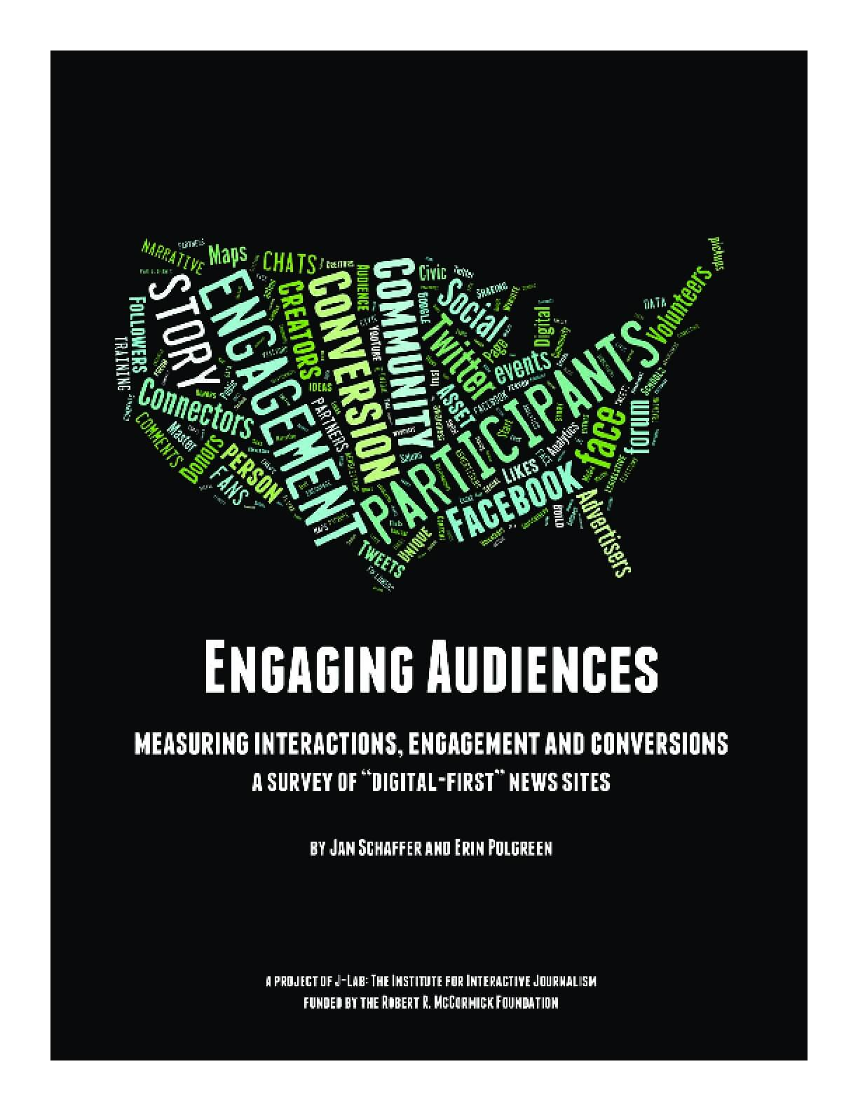 Engaging Audiences: Measuring Interactions, Engagement and Conversions
