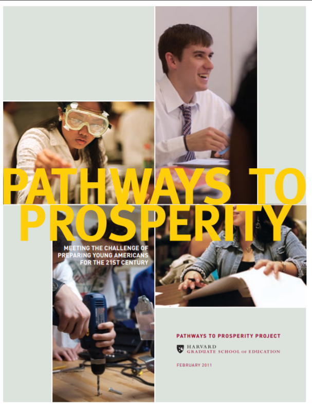 Pathways to Prosperity: Meeting the Challenge of Preparing Young Americans for the 21st Century