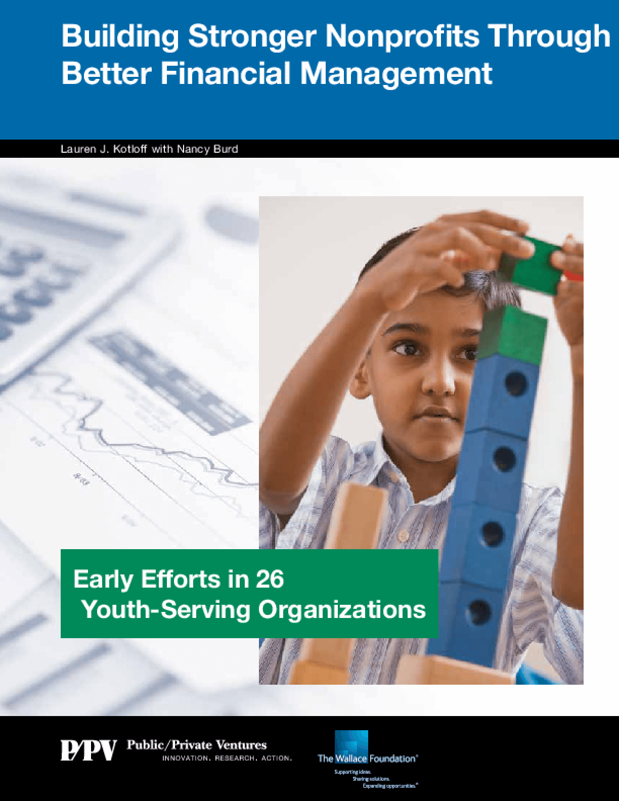 Building Stronger Nonprofits Through Better Financial Management: Early Efforts in 26 Youth-Serving Organizations
