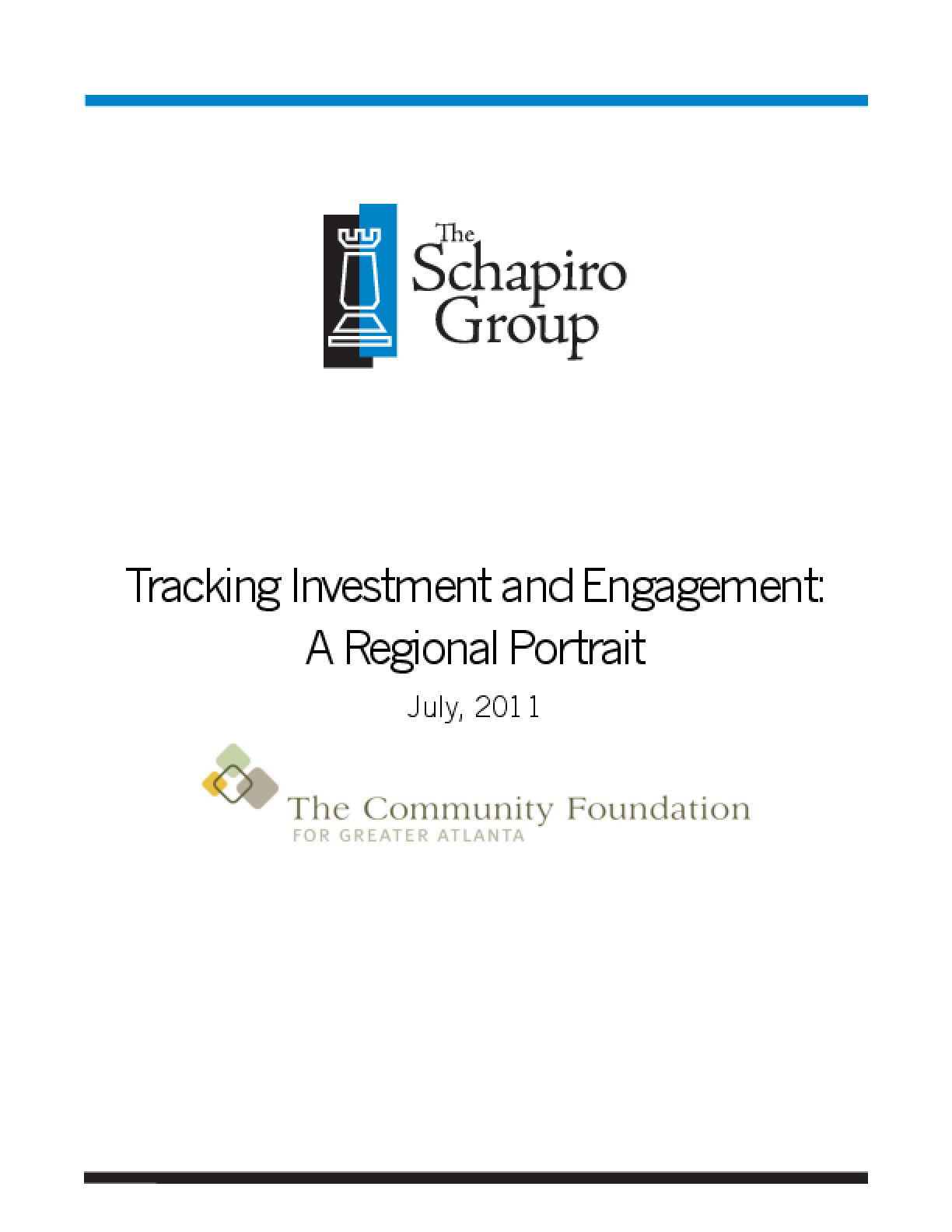 Tracking Investment and Engagement: A Regional Portrait