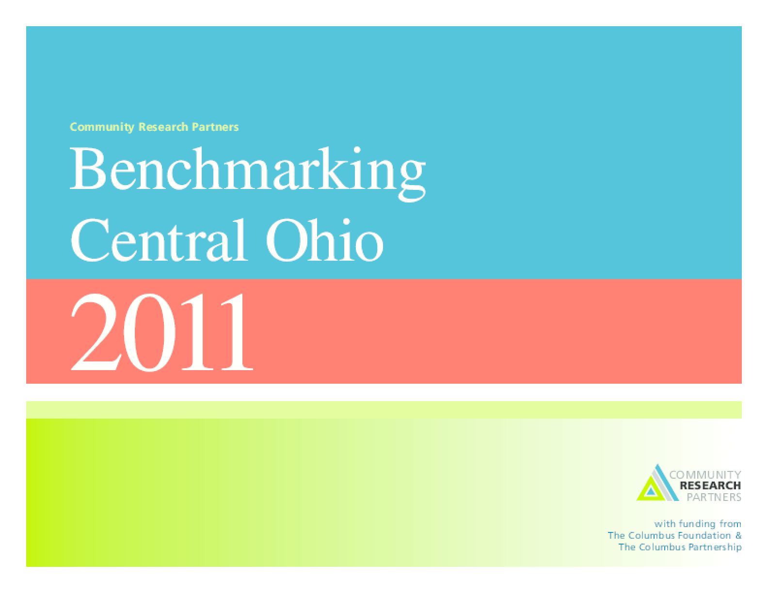 Benchmarking Central Ohio 2011