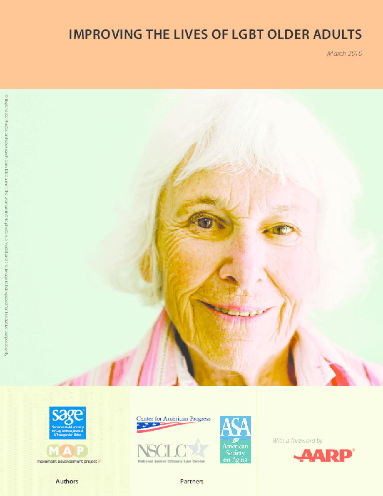 Improving the Lives of LGBT Older Adults