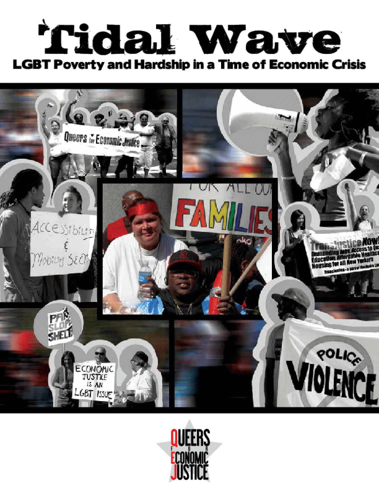 Tidal Wave: LGBT Poverty and Hardship in a Time of Economic Crisis