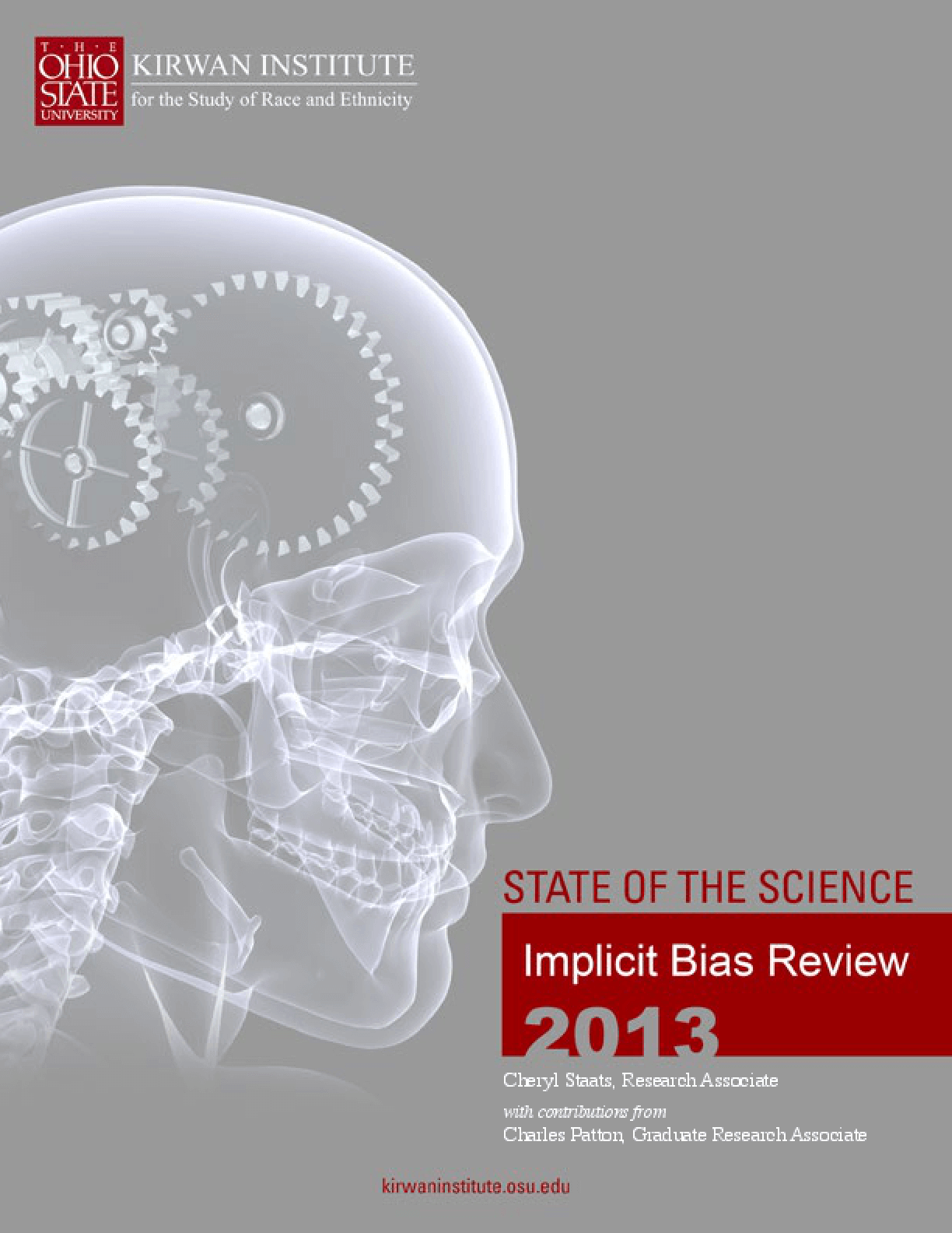 State of the Science: Implicit Bias Review 2013