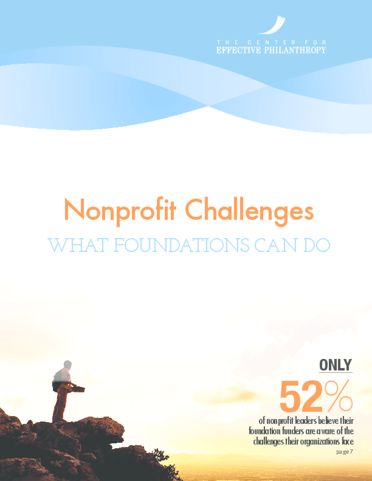 Nonprofit Challenges: What Foundations Can Do