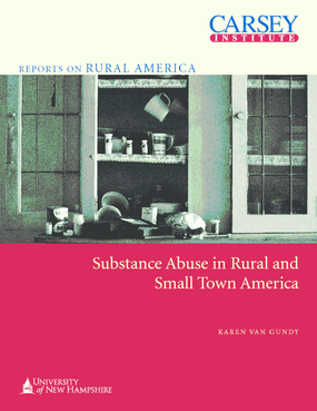 Substance Abuse in Rural and Small Town America