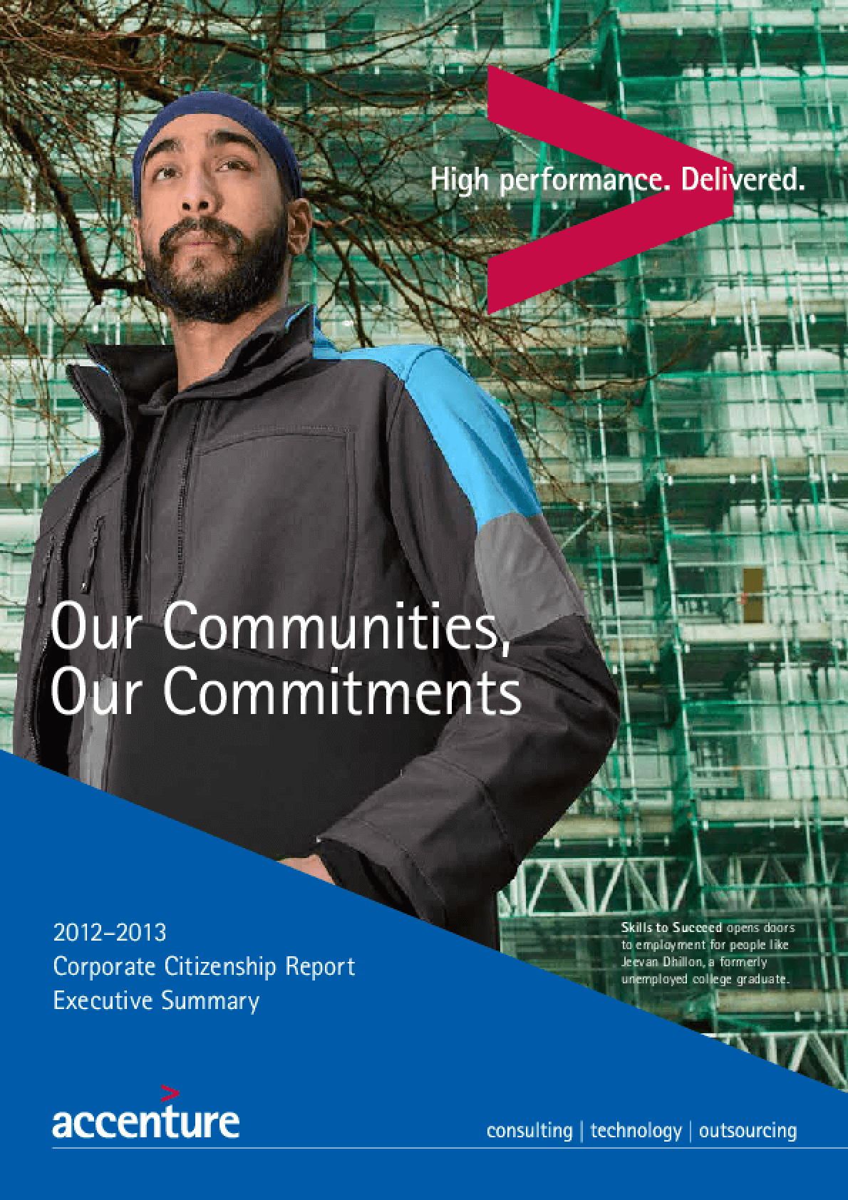 Our Communities, Our Commitments: 2012-2013 Corporate Citizenship Report (Executive Summary)