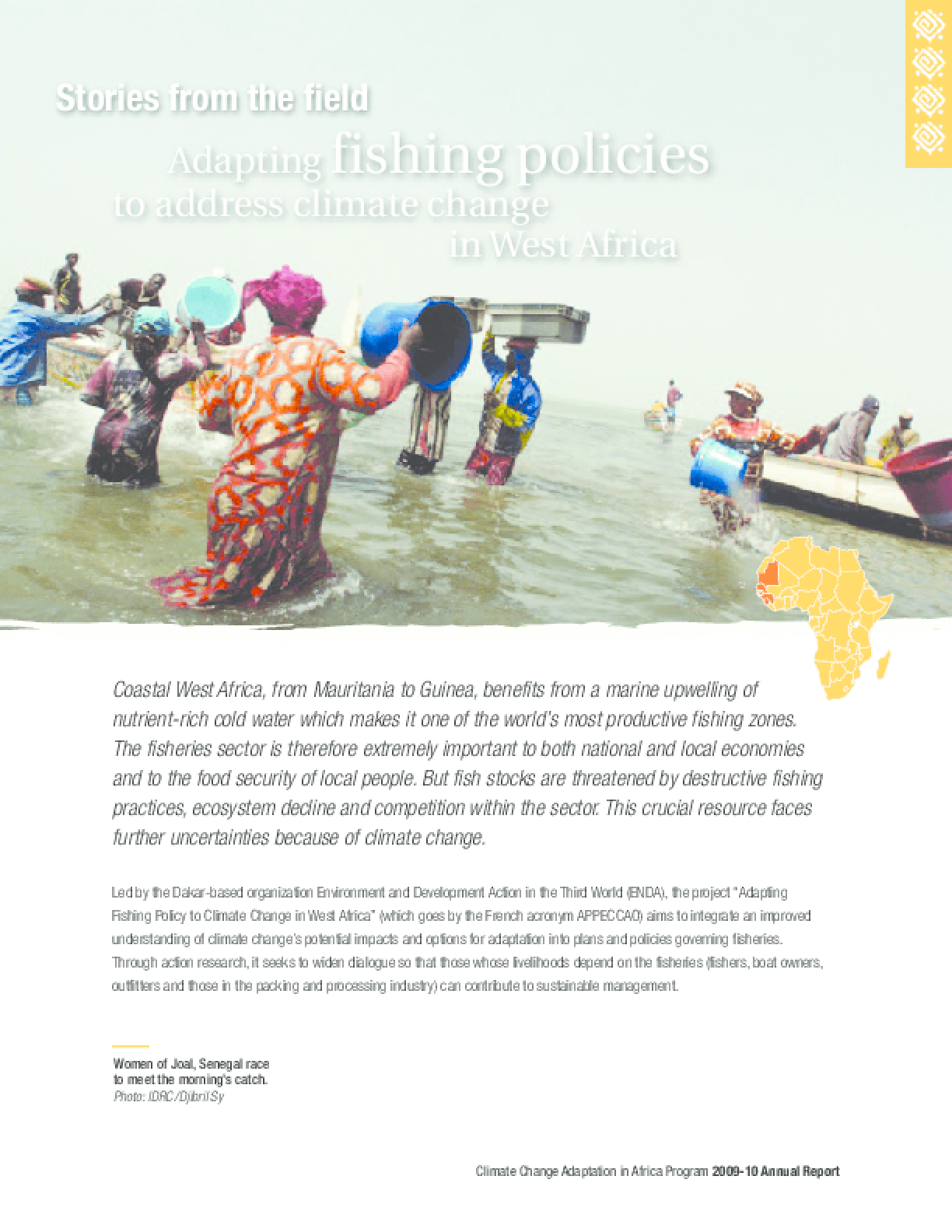 Stories from the Field: Adapting Fishing Policies to Address Climate Change in West Africa