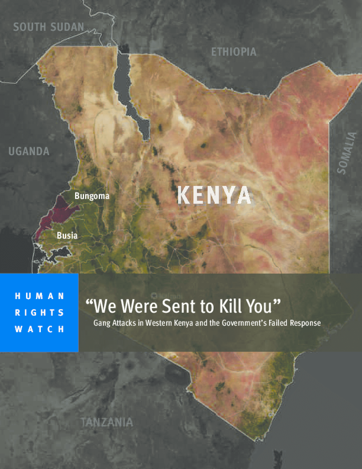 """We Were Sent to Kill You"": Gang Attacks in Western Kenya and the Government's Failed Response"