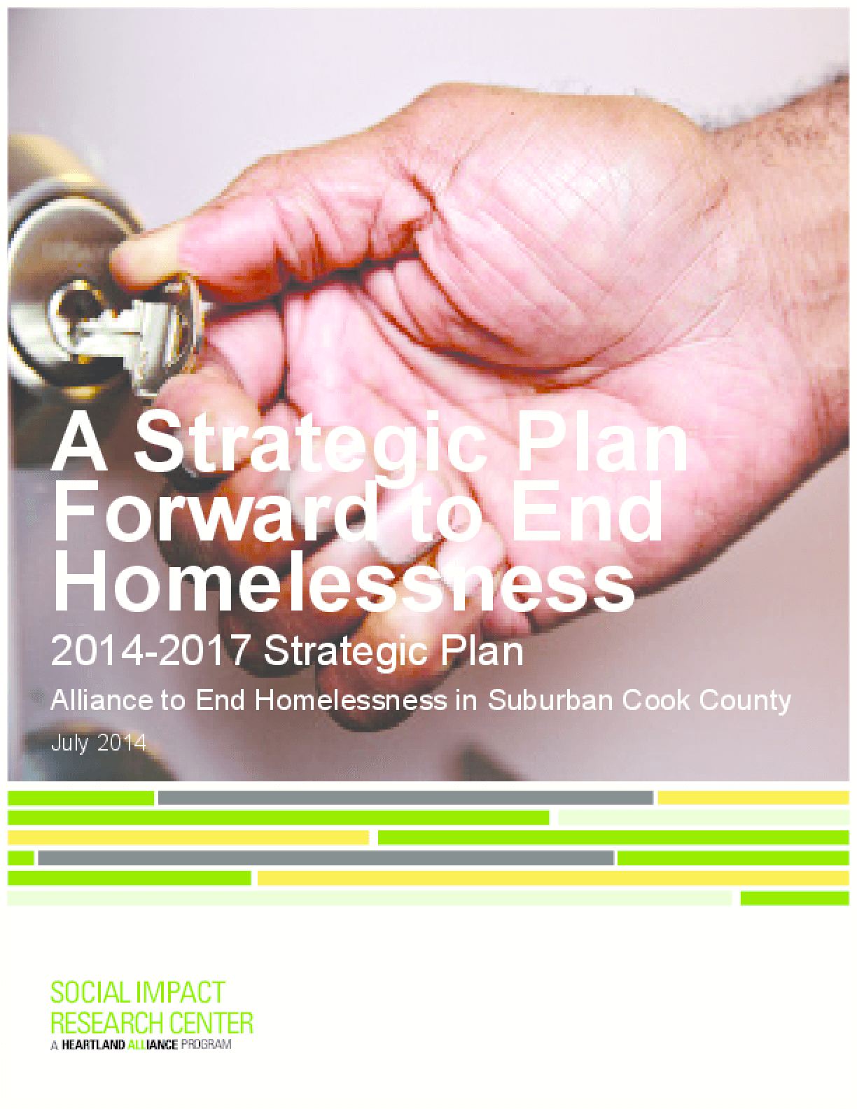 A Strategic Plan Forward to End Homelessness in Suburban Cook County