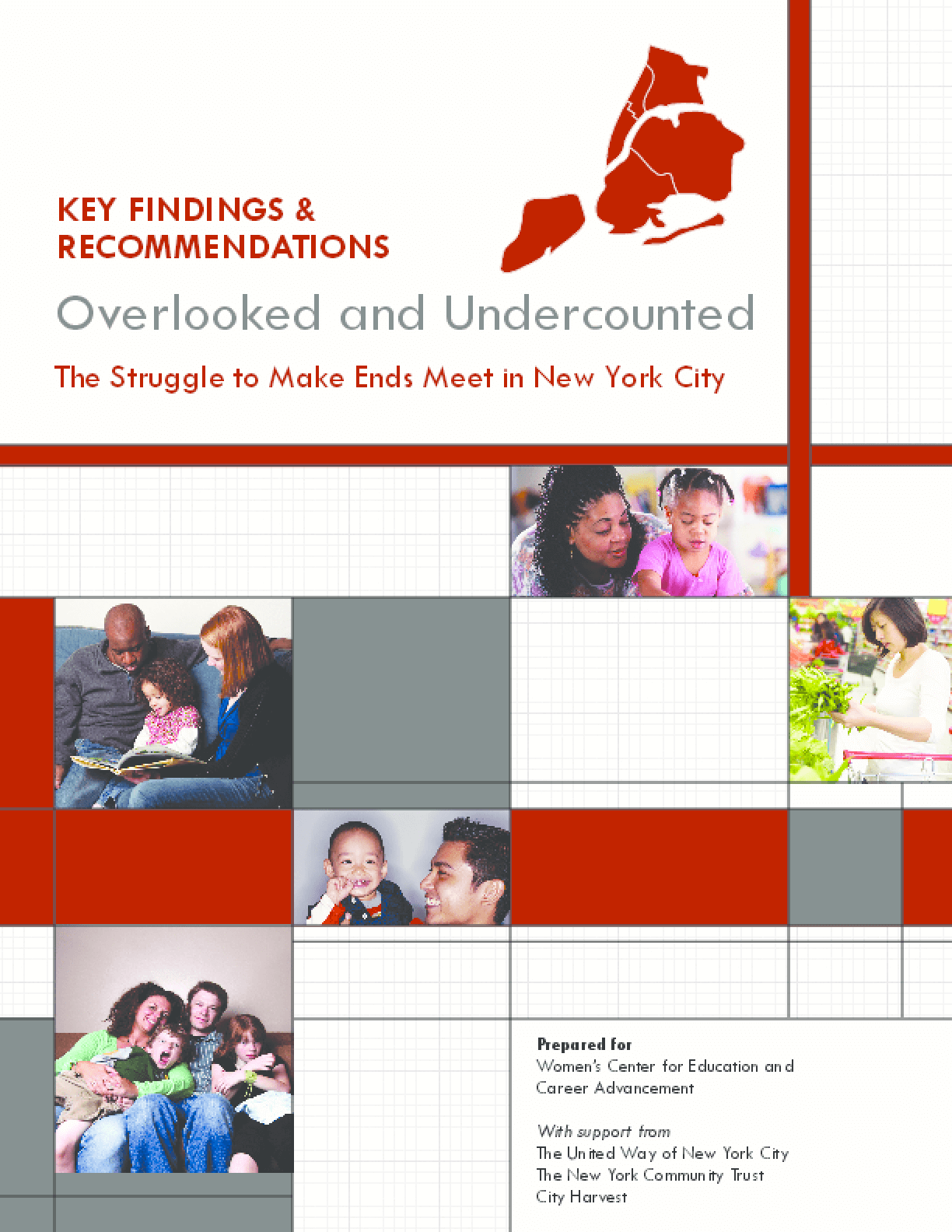 Overlooked and Undercounted - The Struggle to Make Ends Meet in New York City - Key Findings and Recommendations