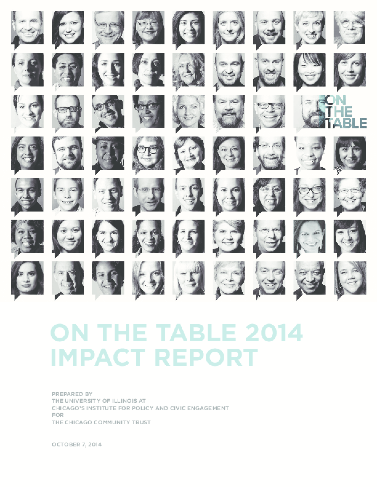 On The Table 2014 Impact Report