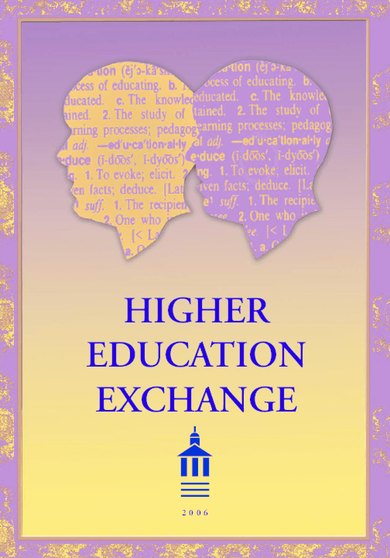 Higher Education Exchange: 2006