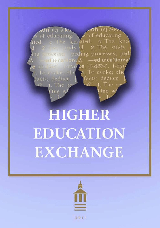 Higher Education Exchange: 2011