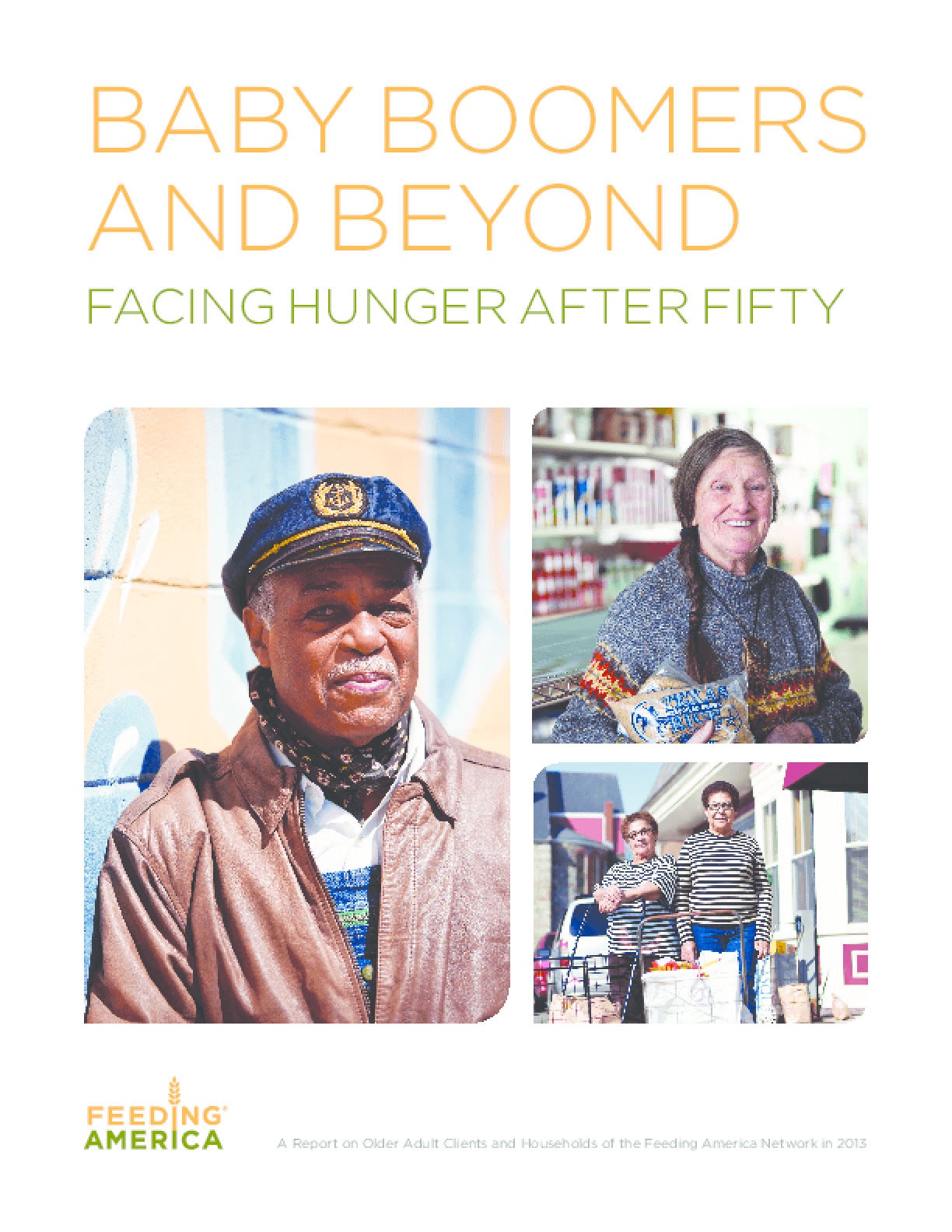 Baby Boomers and Beyond: Facing Hunger After Fifty