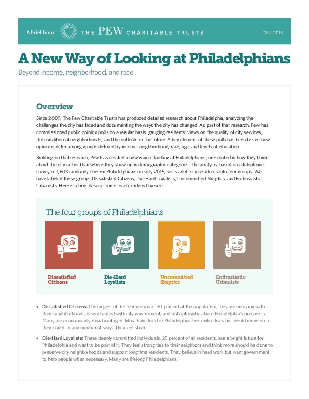 A New Way of Looking at Philadelphians