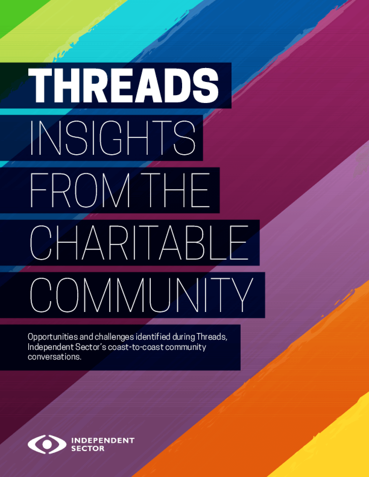 Threads: Insights from the Charitable Community