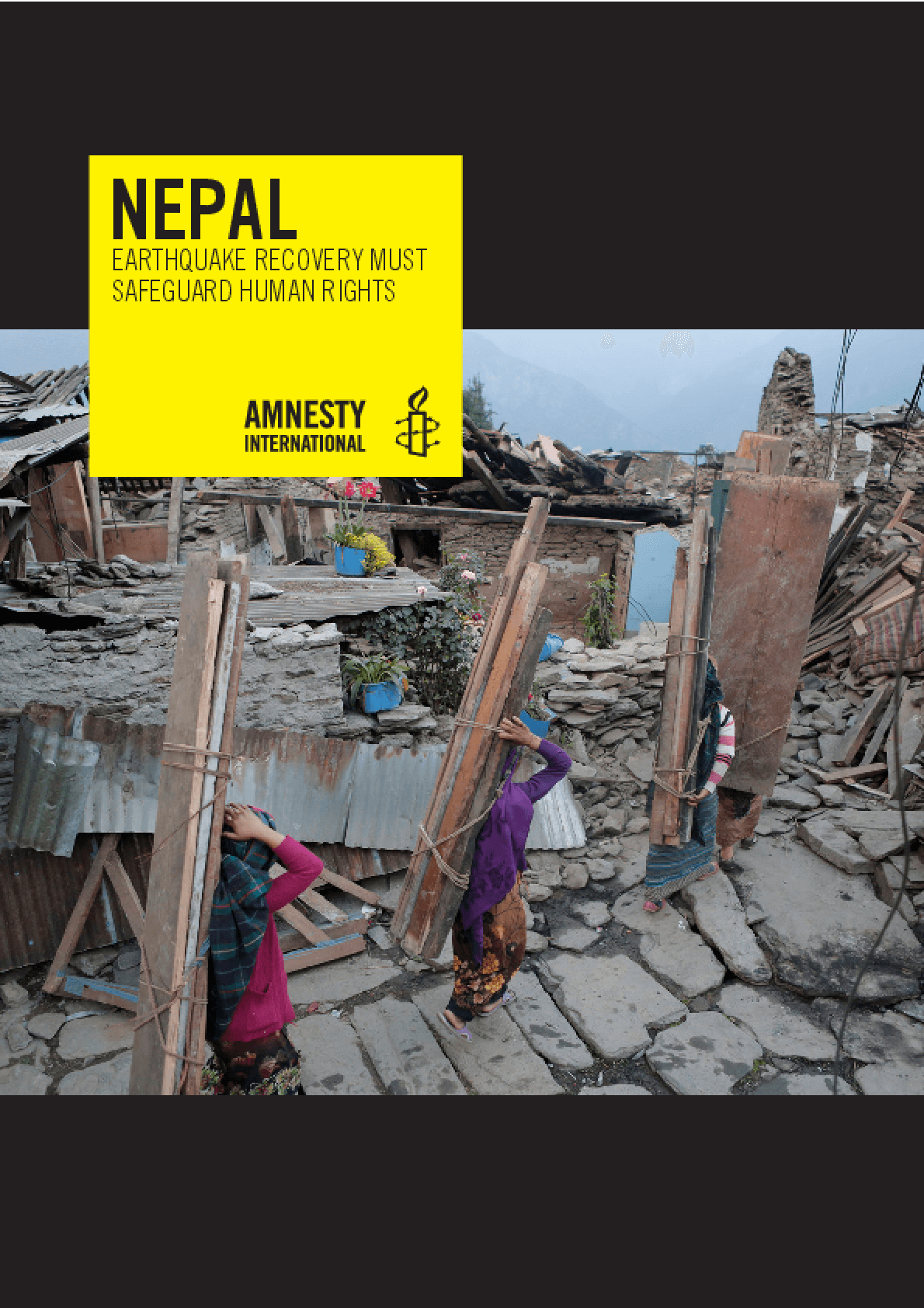 Nepal: Earthquake Recovery Must Safeguard Human Rights