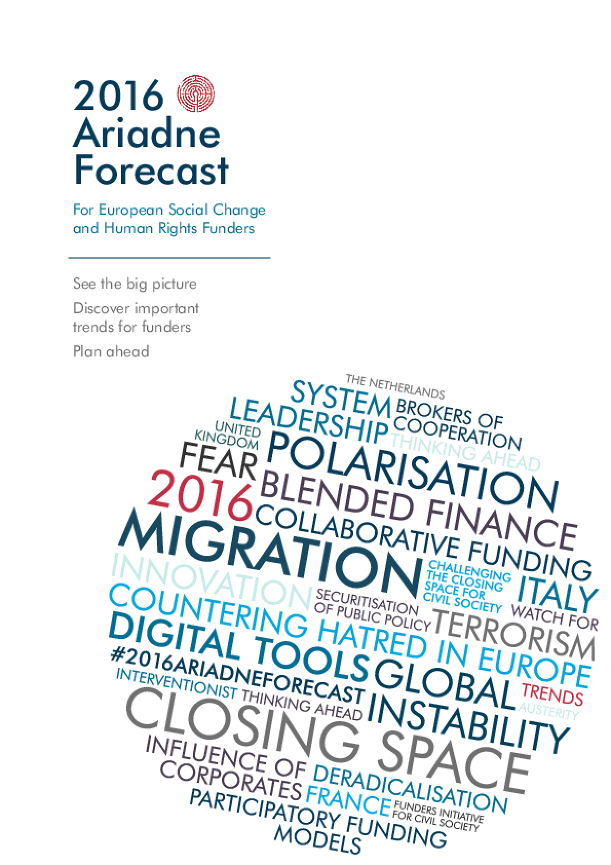 2016 Ariadne Forecast: For European Social Change and Human Rights Funders