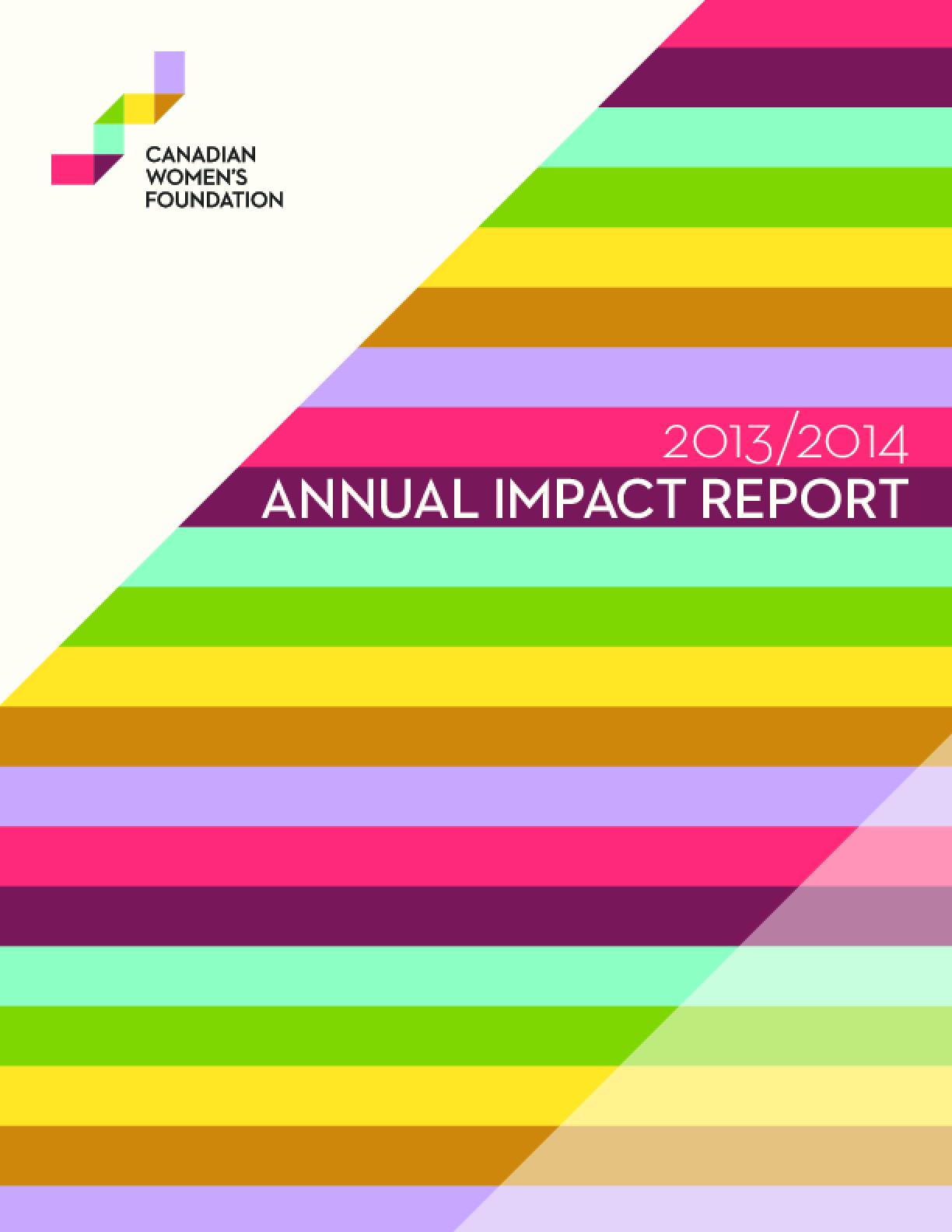 Annual Report 2013/2014