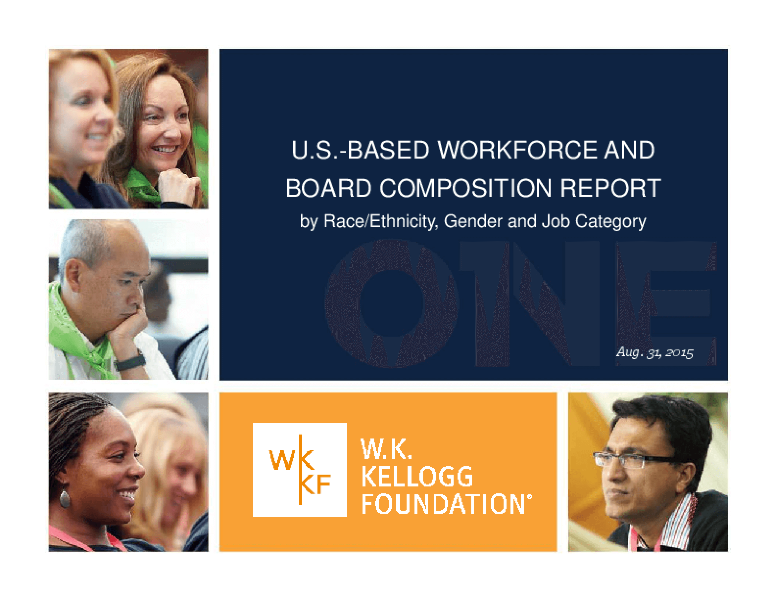 US Based Workforce and Board Composition Report by Race/Ethinicity, Gender and Job Category 2015