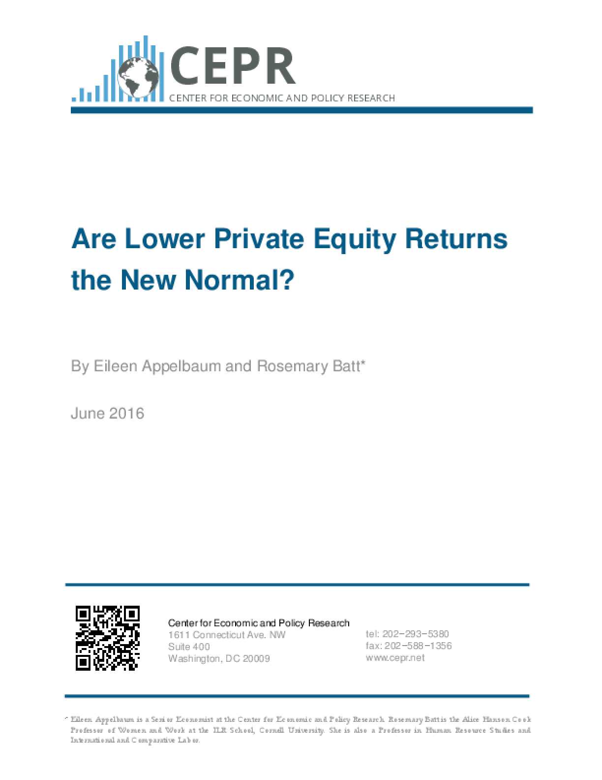 Are Lower Private Equity Returns the New Normal?