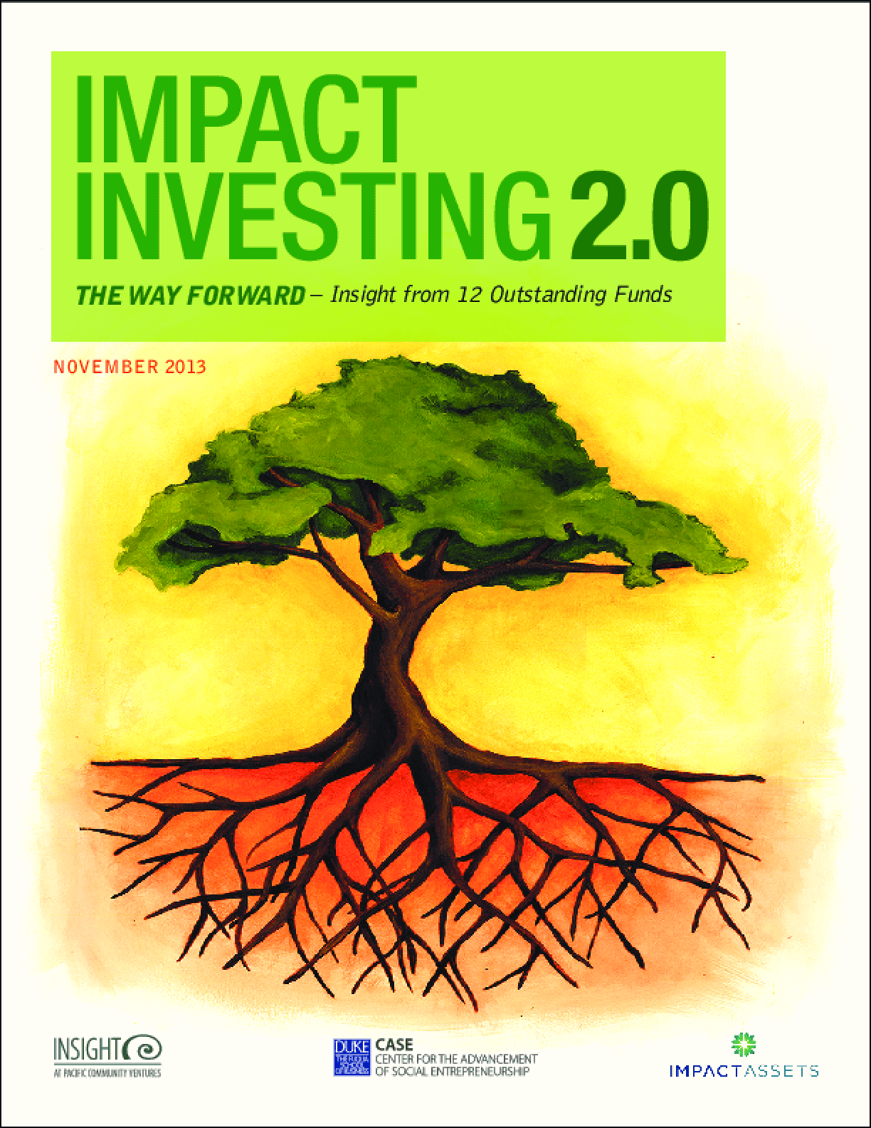 Impact Investing 2.0: The Way Forward