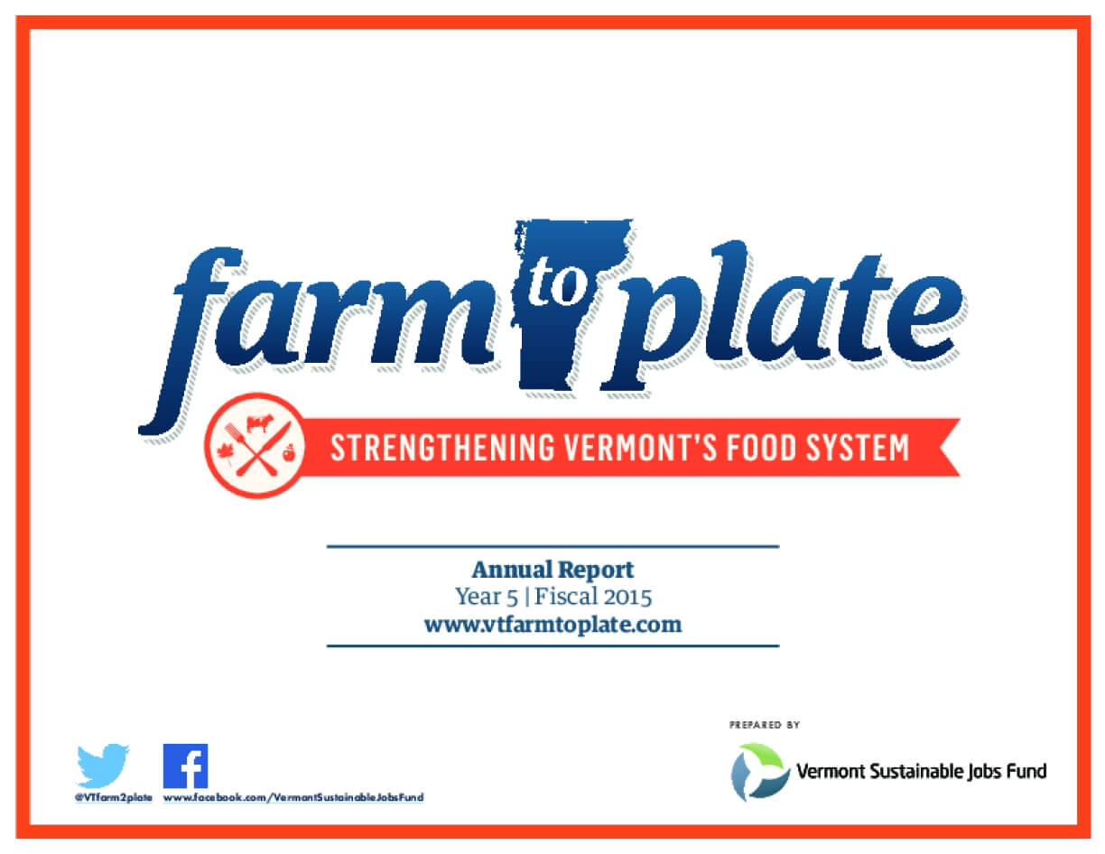 Farm to Plate: Strengthening Vermont's Food System